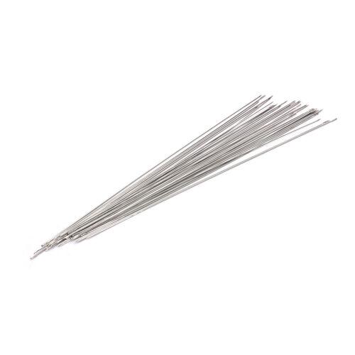 30x Beading Needles Fit Jewellery Making Threading New FBDC KK