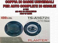CASSE ALTOPARLANTI STEREO HI-FI AUTO 3 VIE 16CM 400W TUNING IMPIANTO TS-A1672E