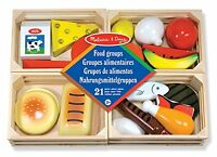 Melissa And Doug Food Groups , New, Free Shipping