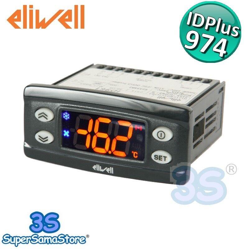 3S TERMOSTATO ELIWELL IDPlus 974 regolatore di temperatura unità refrigerate NEW