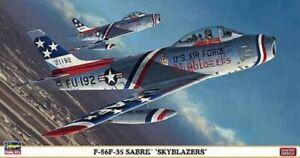 Hasegawa-09969-1-48-F-86F-35-Sabre-039-Skyblazers-039-Neuf