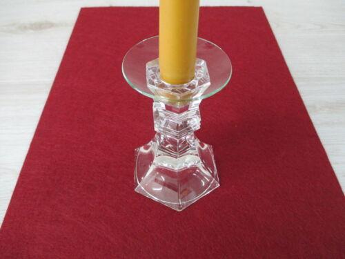 Bobeche für Kerzenständer mehr NEU Tropfenfänger Kerze Glas Standard