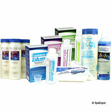 Cleanwater Blue Pro Supplies Kit for Hot Tub & Spa - Natural Mineral Sanitizer