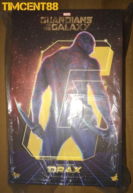 listo Hot Toys MMS355 Guardianes de la Galaxia Drax el Destructor Dave Bautista