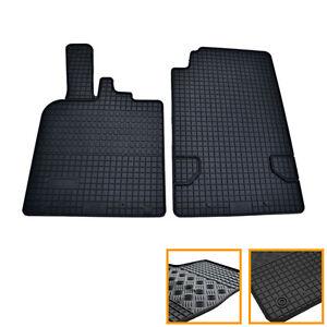 2 Tapis Caoutchouc Smart Fortwo 2007-2014 451 Brabus & Xclusive Sol Specifique Excellente Qualité