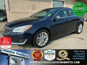 2015 Buick Regal Turbo* AWD/Sunroof/REMOTE STARTER/ONLY 35,281 kms