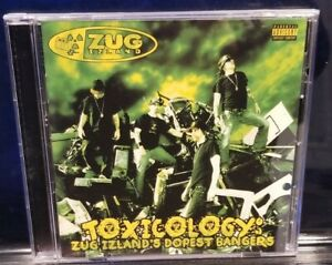 Zug Izland - Toxicology CD insane clown posse twiztid blaze ya dead homie icp