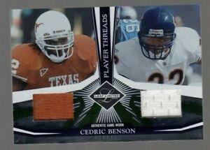 Cedric-Benson-2006-Leaf-Limited-Player-Threads-Game-Worn-Jersey-028-100