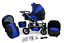Baby pram Travel System Pushchair and Carrycot Car Seat Combi Buggy From Birth