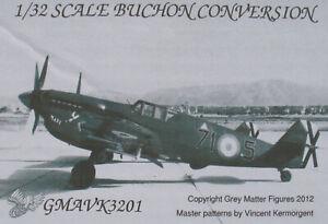 BUCHON CONVERSION GMAVK3201 - Hispano Aviacion HA-1112-M1L Resin Set +Decal 1:32