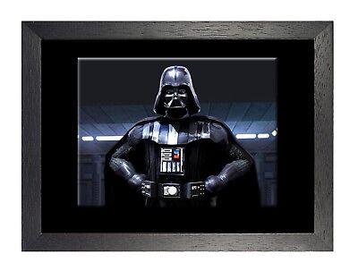 Darth Vader 1 Print Star Wars Classic Movie Picture Vintage Film Poster Hero