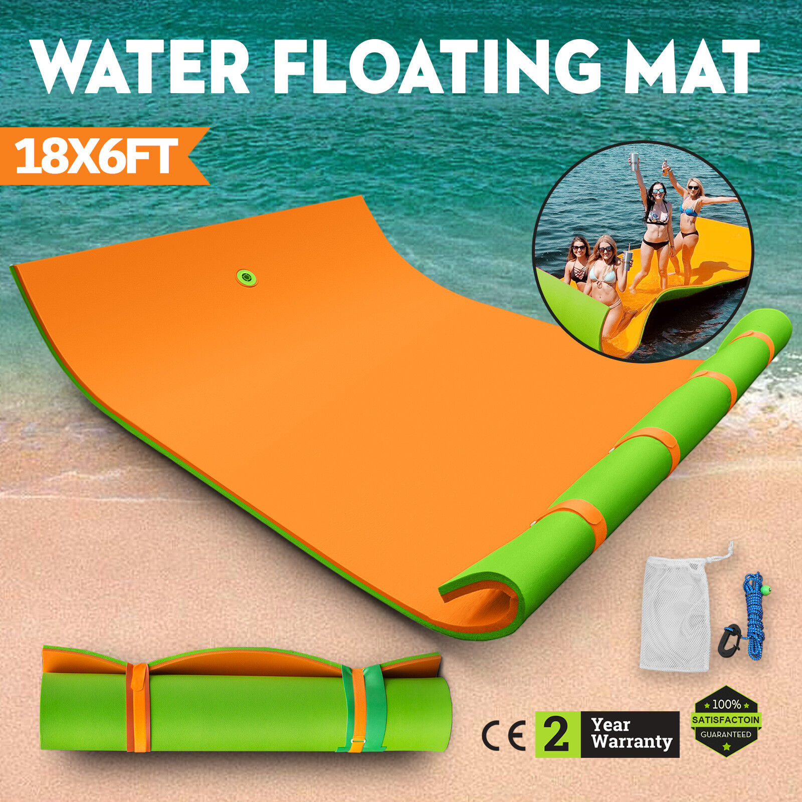 Schwimmende Schwimmende Schwimmende Schwimmmatte Badespaß Strandmatte Matte Mat XPE Water Schwimmmatte 158a4b