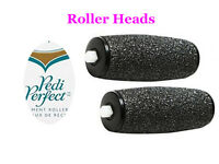 2 Replacement Coarse Rollers Fits Amope Pedi Perfect, Dr. Scholl, Anionte
