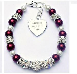 Image Is Loading Personalised Engraved Multiple Myeloma Cancer Bracelet Fundraising Charity