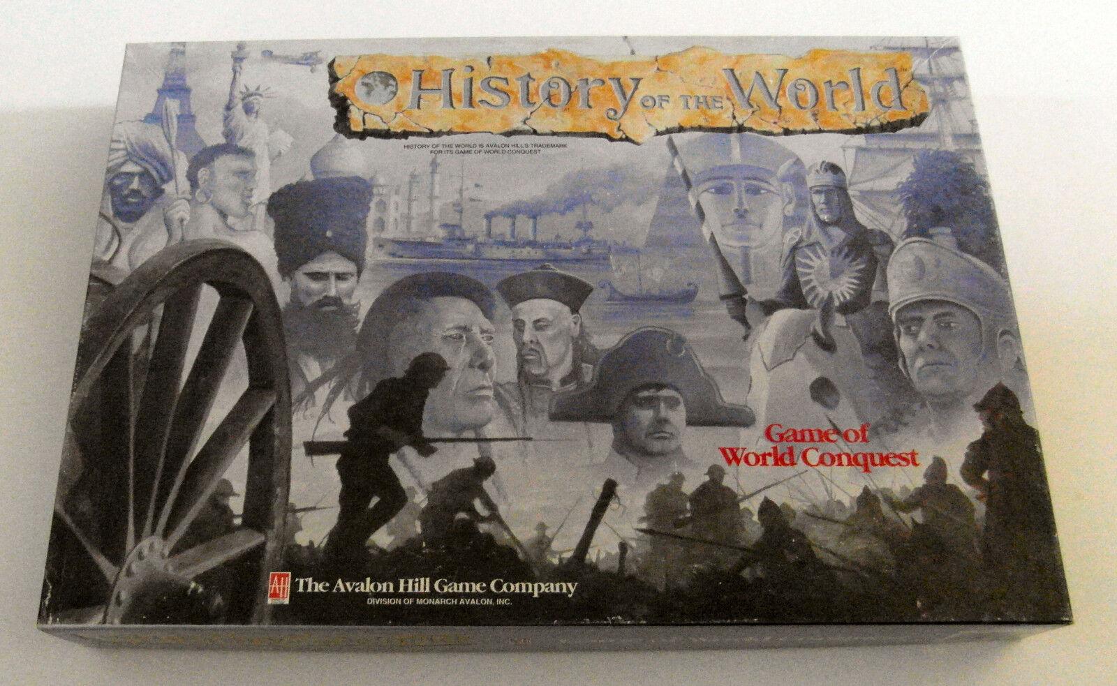 Maison neuve, satisfaite satisfaite satisfaite de la famille Histoire du monde-Avalon Hill - 1993 130bd6