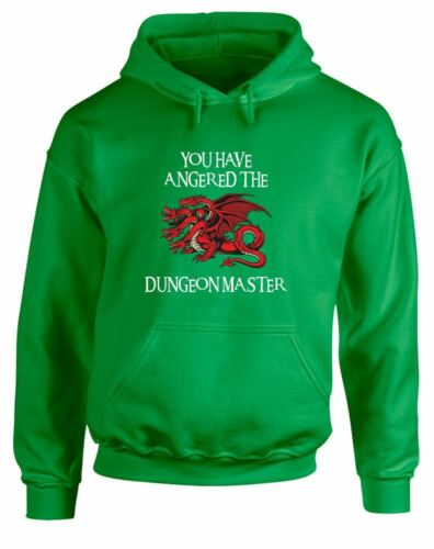 Printed Hoodie You Have Angered The Dungeon Master