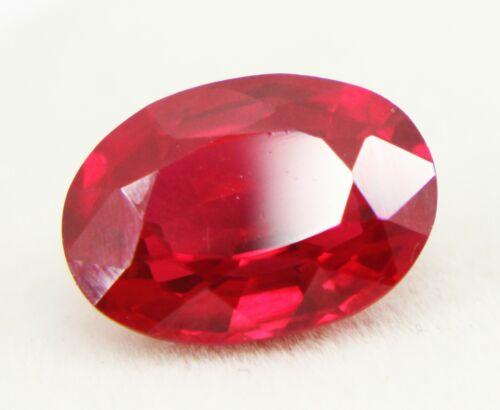 8,80 karat  natürlicher Rubin Ovale Form GGL  Zertifiziert