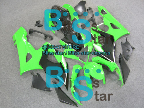 Green Glossy GSX-R1000 Fairing Bodywork Kit Fit Suzuki GSXR1000 2005-2006 04 B2