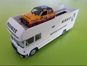 Berliet GBK 75 service Compétition Renault 1 43
