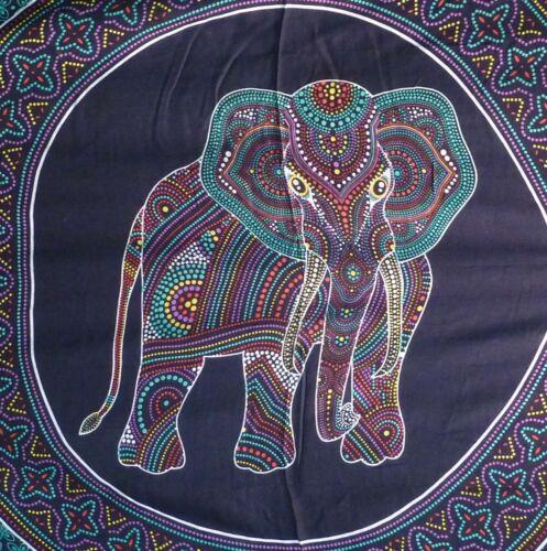Elephant Boho Hippy Large Batik Sarong Shawl Wrap Beach Skirt Dress Wall Hanging