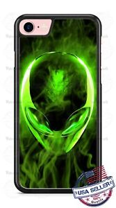 Alien-Green-Smoke-Design-Phone-Case-for-iPhone-Samsung-Google-LG-HTC-etc