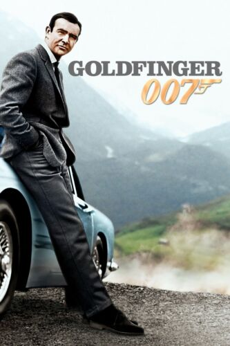 007 JAMES BOND MOVIE FILM POSTERS SEAN CONNERY ROGER MOORE A4 A3 300GSM PAPER