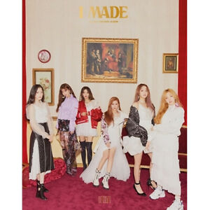 GIRL-G-I-DLE-I-MADE-2nd-Mini-Album-CD-POSTER-Photo-Book-Card-2Sticker-SEALED