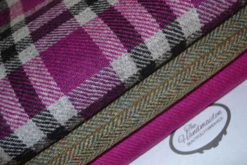 Harris Tweed /& etiquetas de todos los tamaños Paquetes De Lana Artesanales Quilting Patchwork Amarillo