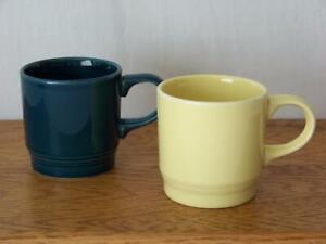Homer-Laughlin-China-COLOURS-8-oz-Mug-Glazed-in-Fiesta-Juniper-ONLY