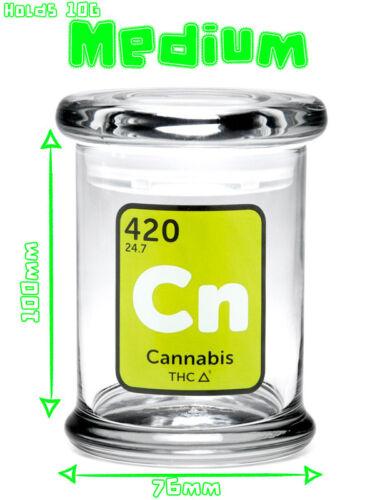 Cn Design Various Sizes 420 Classic Pop Top Jar