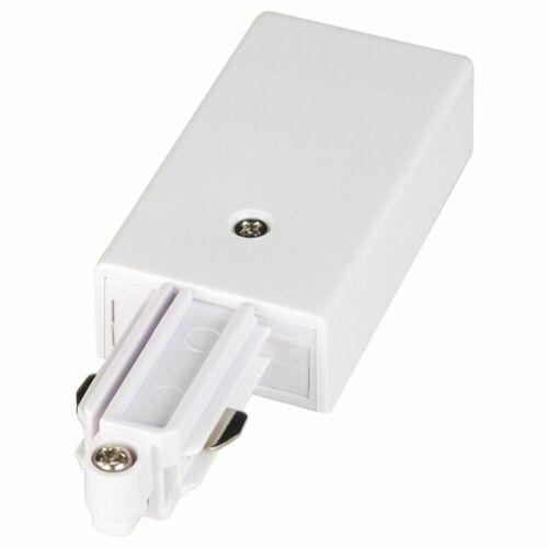 weiß Schutzleiter links Einspeiser für 1-Phasen HV-Stromschiene