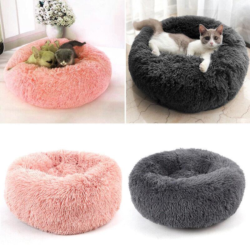 Große Hundebett Haustier Hund Katze Bett Nest Kissen Weiches Waschbar Flauschige 7