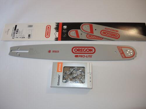 """Oregon Pro-Lite Schiene Schwert 45 cm 1,5 325/"""" f Husqvarna TYP1 1x RM Kette"""