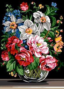 SEG de Paris Tapestry//Needlepoint Canvas Winter in the Village