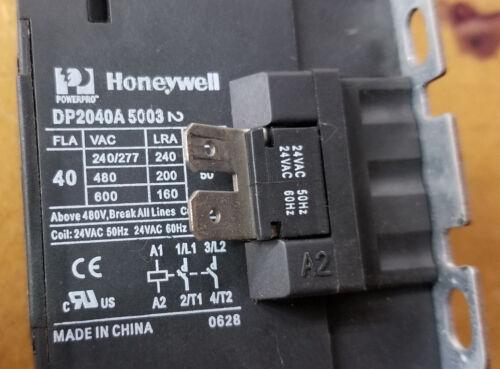 Honeywell Powerpro DP2040A5003 Condenser Contactor DP2040A-5003