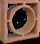 miniature 6 - Formziegel Dekor Kreis - Wand Ornament Ziegel Wall Block Brick - Bemusterung