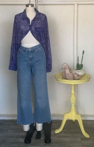Reworked 512 Levis Size US 4
