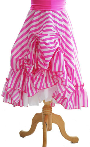 All Ages /& Sizes Dance-Dancewear-Stage Shows-Panto RUCHED STRIPED SKIRT
