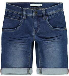 NAME-IT-Jungen-Jeans-Shorts-Bermuda-NKMSofus-DNMTax-blau-Groesse-92-bis-164