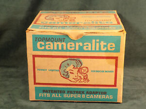 VINTAGE-TOP-MOUNT-CAMERA-LITE-FOR-ALL-SUPER-8-CAMERAS-WITH-BOX