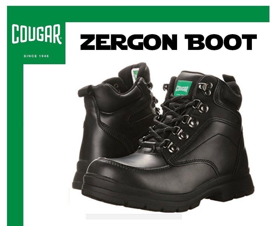 Cougar 'zergon'  bota en negro (Impermeable) Para hombres Talla 8 M nuevo con etiquetas sin Caja  tienda hace compras y ventas