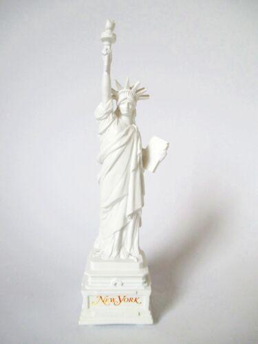 New York City Statue de la Liberté Blanc 16cm Souvenir USA
