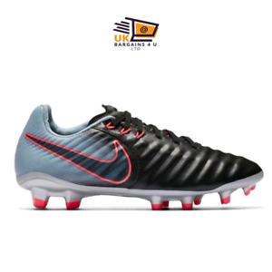 1c848a592 NIKE JR TIEMPO LEGEND VII FG RUGBY  Football BOOT Black Navy-Armory ...