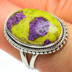 Atlantisite-925-Sterling-Silver-Ring-Size-7-25-Ana-Co-Jewelry-R45198F