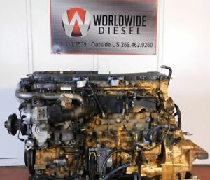 "2008 Detroit DD15 ""901"" Diesel Engine Take Out, 560HP,  Good For Rebuild Only"