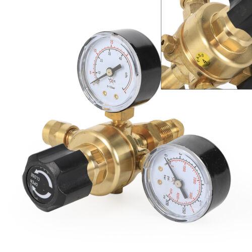 4000PSI Argon CO2 Gas MIG TIG Flow Meter Regulator Pressure Control Gauge