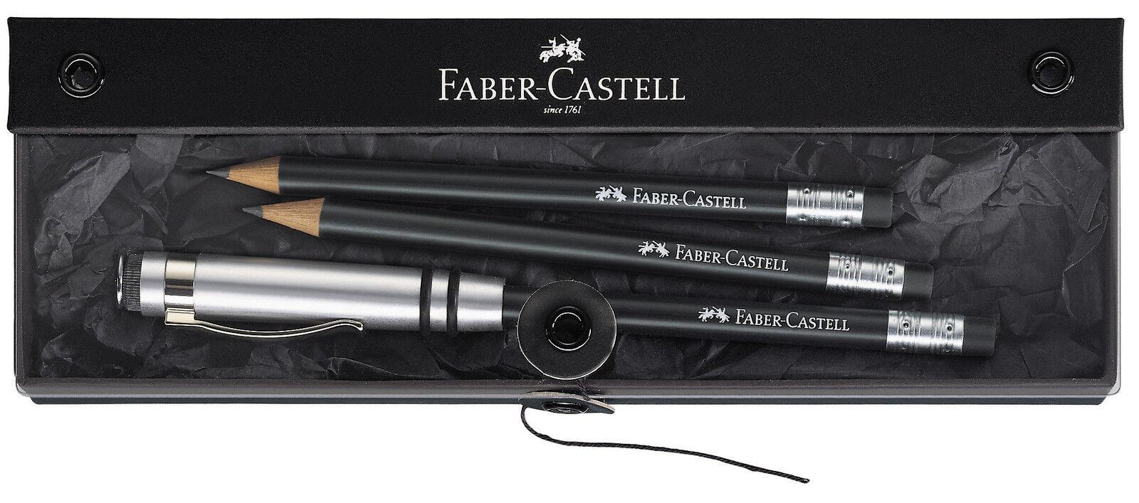 Faber Castell Perfekter Bleistift DESIGN schwarz Geschenkset | Verschiedene Stile