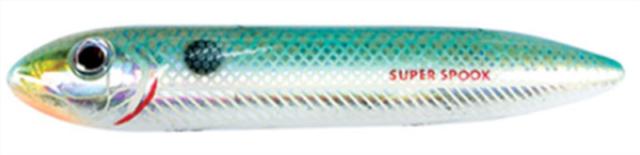 """X9256 Heddon 5/"""" Super Spook 7//8 Oz Lake Fork Shad Fishing Lure for sale online"""