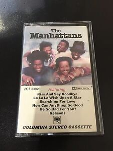 THE-MANHATTANS-034-KISS-amp-SAY-GOODBYE-034-COMPACT-CASSETTE-USED-TAPE-PCT-33820