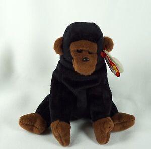 a328823bfcc Ty Beanie Baby CONGO 1996 Gorilla w  Tag ERRORS Plush Toy RARE PVC ...